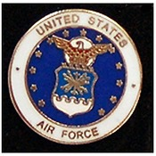 US Air Force Branch Pin 3/4""