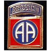 82nd Airborne Pin 3/4""