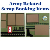 US Army Scrap Book Pages