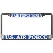 Air Force Wife License Plate Frame (limited availability)